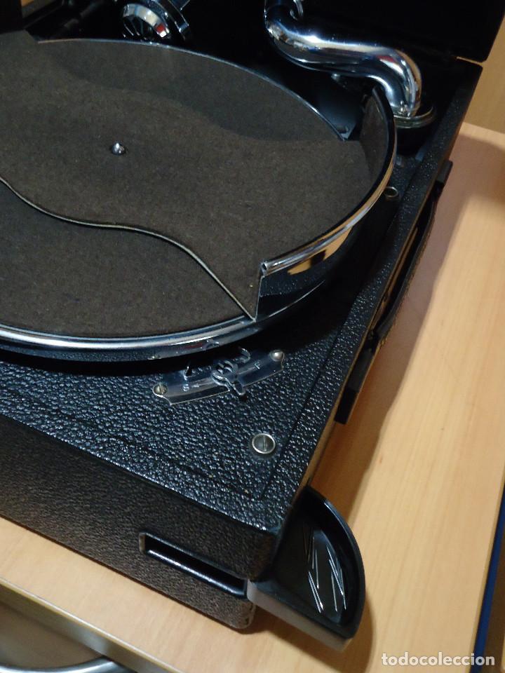 Gramófonos y gramolas: MAGNIFICO E IMPECABLE GRAMOFONO VOZ DE SU AMO - Foto 7 - 236894485