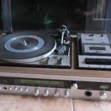 Gramófonos y gramolas: TOCADISCOS, RADIO Y CASSETTE BETTOR EF-380 DUAL 1224. Lote 238102770