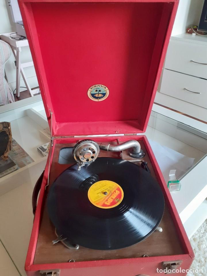 GRAMÓFONO, GRAMOLA (Radios, Gramófonos, Grabadoras y Otros - Gramófonos y Gramolas)