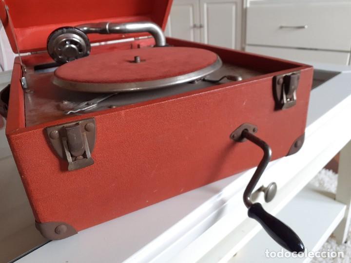 Gramófonos y gramolas: Gramófono, gramola - Foto 3 - 240001050