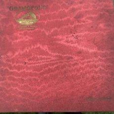 Gramófonos y gramolas: ALBUM CON 12 DISCOS PIZARRA O PIEDRA DE MÚSICA PARA GRAMOFONO. Lote 240894605