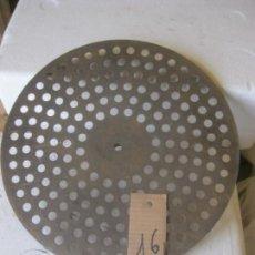 Gramófonos y gramolas: PLATO GRAMOFONO HUSADO DIAMETRO 25 CM. VER FOTO ADICIONAL. Lote 241628705