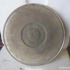 Gramófonos y gramolas: PLATO GRAMOFONO HUSADO DIAMETRO 25 CM. VER FOTO ADICIONAL. Lote 241725710