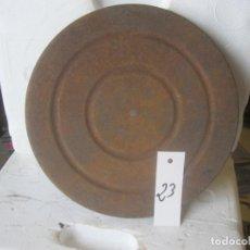 Gramófonos y gramolas: PLATO GRAMOFONO HUSADO DIAMETRO 25 CM. VER FOTO ADICIONAL. Lote 241725960