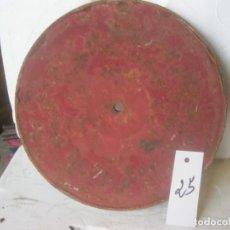 Gramófonos y gramolas: PLATO GRAMOFONO HUSADO DIAMETRO 25 CM. VER FOTO ADICIONAL. Lote 241726210