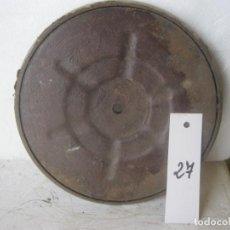 Gramófonos y gramolas: PLATO GRAMOFONO HUSADO DIAMETRO 20 CM. VER FOTO ADICIONAL. Lote 241726370
