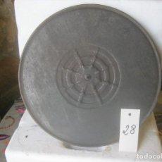 Gramófonos y gramolas: PLATO GRAMOFONO HUSADO DIAMETRO 30 CM. VER FOTO ADICIONAL. Lote 241726535