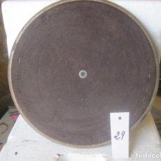 Gramófonos y gramolas: PLATO GRAMOFONO HUSADO DIAMETRO 30 CM. VER FOTO ADICIONAL. Lote 241726675
