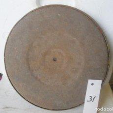 Gramófonos y gramolas: PLATO GRAMOFONO HUSADO DIAMETRO 25 CM. VER FOTO ADICIONAL. Lote 241726920