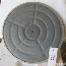 Gramófonos y gramolas: PLATO GRAMOFONO HUSADO DIAMETRO 29 CM. VER FOTO ADICIONAL. Lote 241728420