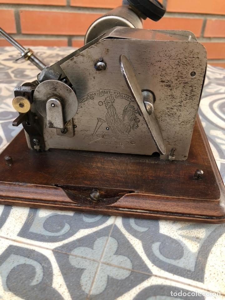 Gramófonos y gramolas: Fonografo gramófono gramóla FUNCIONANDO PHONOGRAPHE GRAMOPHONE USMO - Foto 2 - 244723170