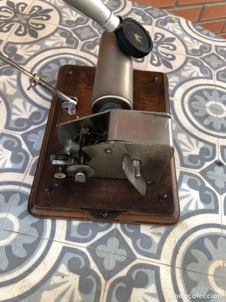 Gramófonos y gramolas: Fonografo gramófono gramóla FUNCIONANDO PHONOGRAPHE GRAMOPHONE USMO - Foto 5 - 244723170