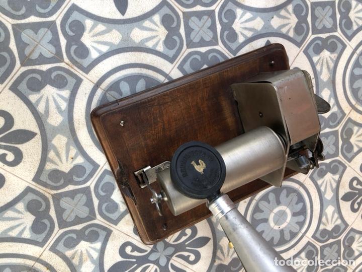 Gramófonos y gramolas: Fonografo gramófono gramóla FUNCIONANDO PHONOGRAPHE GRAMOPHONE USMO - Foto 6 - 244723170