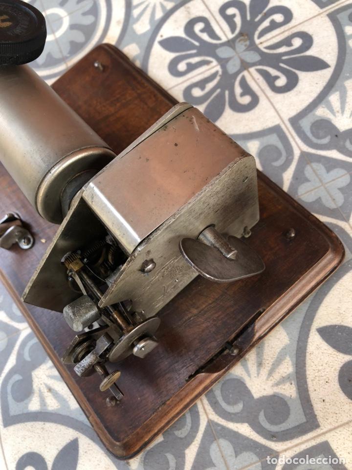 Gramófonos y gramolas: Fonografo gramófono gramóla FUNCIONANDO PHONOGRAPHE GRAMOPHONE USMO - Foto 9 - 244723170