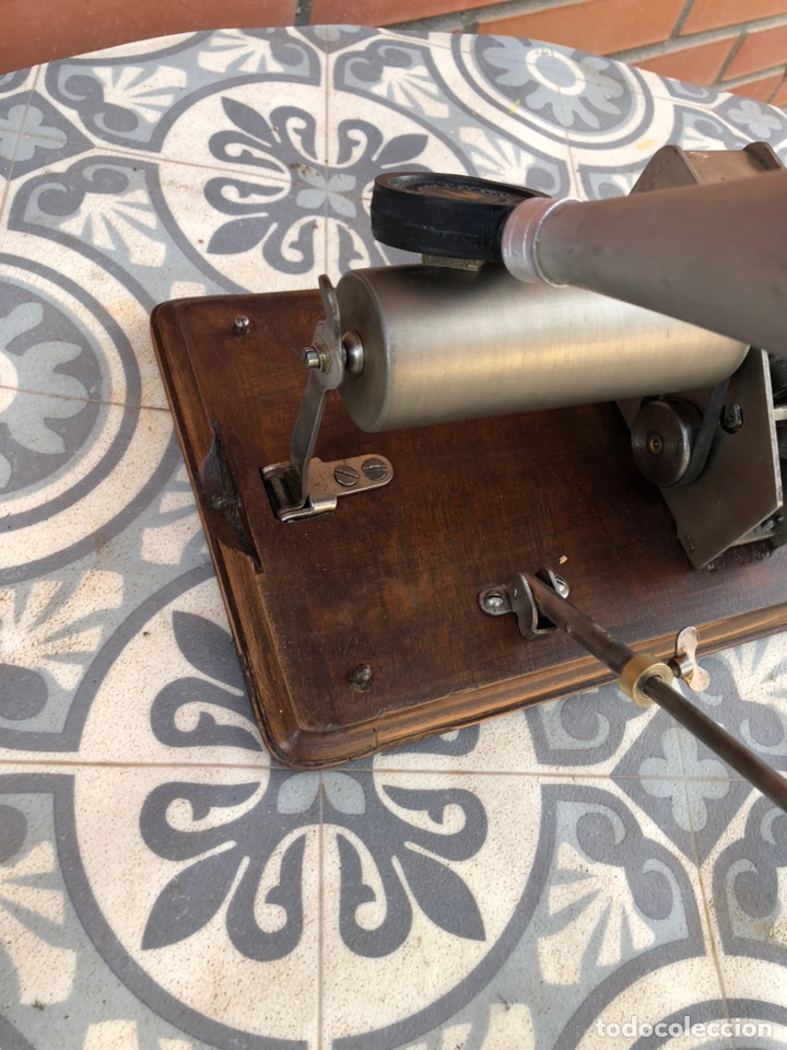 Gramófonos y gramolas: Fonografo gramófono gramóla FUNCIONANDO PHONOGRAPHE GRAMOPHONE USMO - Foto 10 - 244723170