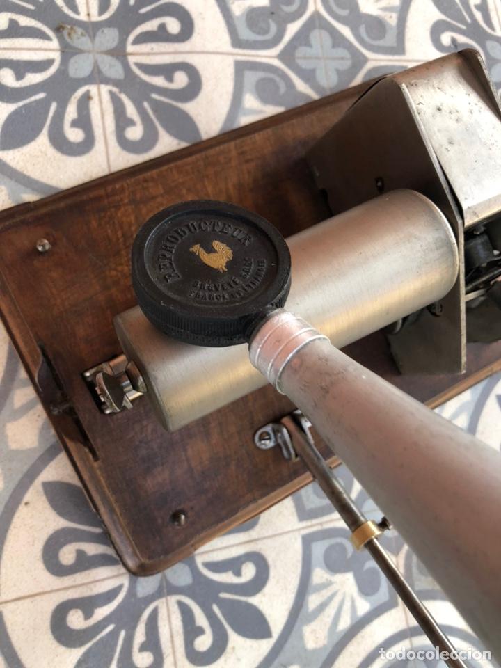 Gramófonos y gramolas: Fonografo gramófono gramóla FUNCIONANDO PHONOGRAPHE GRAMOPHONE USMO - Foto 11 - 244723170