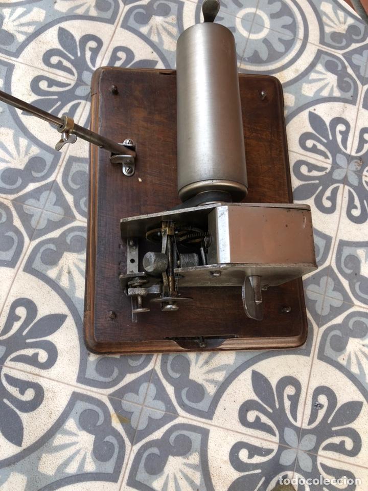 Gramófonos y gramolas: Fonografo gramófono gramóla FUNCIONANDO PHONOGRAPHE GRAMOPHONE USMO - Foto 15 - 244723170