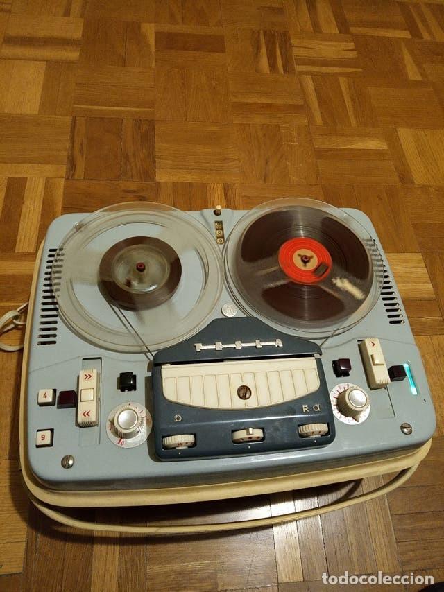 Gramófonos y gramolas: Magnetófono TESLA SONET B3 - Foto 2 - 244775585