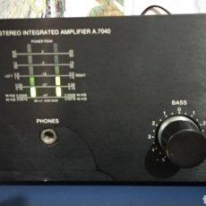 Gramófonos y gramolas: AMPLIFICADOR VIETA 7040. Lote 245391340