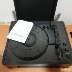 Gramophones: TOCADISCOS VINTAGE DE MALETA-FUNCIONANDO. Lote 248049610