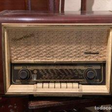 Gramophones: ANTIGUA RADIO RECEPTOR TELEFUNKEN CONCERTINA 58. Lote 249224045