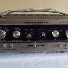 Gramófonos y gramolas: AMPLIFICADOR MARANTZ MODEL 1040. Lote 254385960