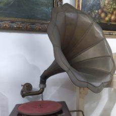 Gramófonos y gramolas: GRAMÓFONO LA VOZ DE TU AMO. Lote 261334755