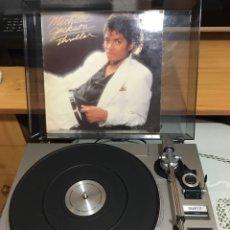 Gramófonos y gramolas: TOCADISCOS GRUNDIG CON VINILO THRILLER MICHAEL JACKSON. Lote 262296950