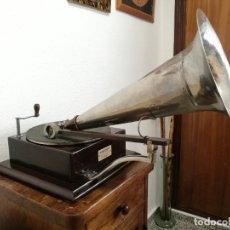 Gramófonos y gramolas: GRAMÓFONO BERLINER G&T STYLE 4 GRAMOPHONE 1902. Lote 240977965