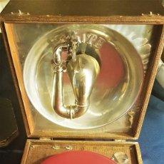 """Grammofoni e gramolas: GRAMAFONO DE LA MARCA """"ELITE"""" (SUIZA 1920-30) FUNCIONANDO 4 AGUJAS Y ALBUM COLUMBIA (8 DISCOS). Lote 264837834"""