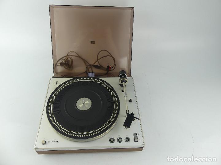TOCADISCOS PHILIPS ELECTRONIC 312 (Radios, Gramófonos, Grabadoras y Otros - Gramófonos y Gramolas)