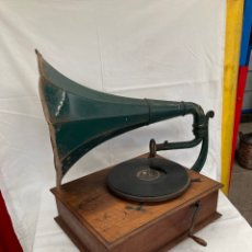 Gramophones: MUY ANTIGUO Y ORIGINAL GRAMOFONO PATHE!1910. Lote 265863259
