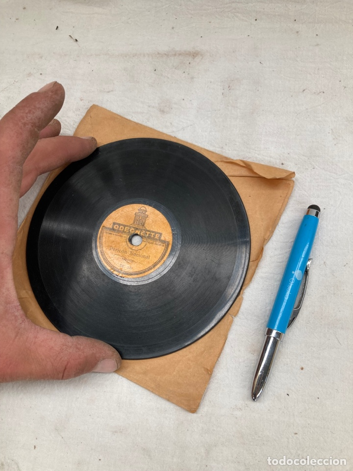 PEQUEÑO DISCO DE GRAMOFONO PEQUEÑO! (Radios, Gramófonos, Grabadoras y Otros - Gramófonos y Gramolas)