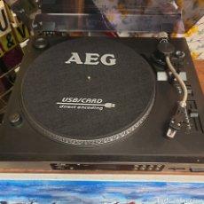 Gramófonos y gramolas: GIRADISCOS AEG NUEVO. Lote 269113858