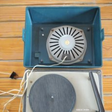 Gramófonos y gramolas: TOCADISCOS ANTIGUO. Lote 276110033