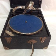 Gramófonos y gramolas: ANTIGUO GRAMÓFONO DE MALETA ARMONOGRAPH BABY ,IDEAL COLECCIONISTAS. Lote 276282888