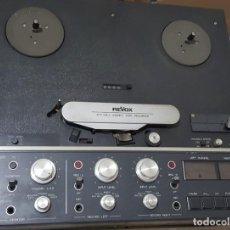 Gramófonos y gramolas: MAGNETOFÓN PROFESIONAL REVOX B77 MKII EN FUNCIONAMIENTO CON CABLE DE LUZ. Lote 277745848