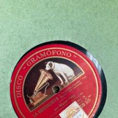 Gramófonos y gramolas: ALBUM CON 10 DISCOS DE PIZARA PARA GRAMOFONO!. Lote 278217618