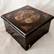 Gramophones: MAGNIFICA CAJA DE MUSICA SYMPHONION,MUY BIEN CONSERVADA,S. XIX. Lote 284234423