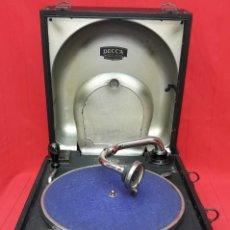 Gramófonos y gramolas: GRAMÓFONO DECCA MODELO 66, PRIMER CUARTO DEL SIGLO XX. Lote 284357838