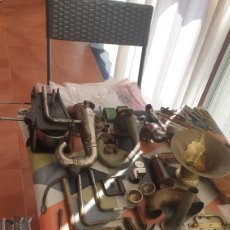 Gramófonos y gramolas: GRAN LOTE DE PIEZAS DE GRAMOFONO. Lote 285675188