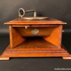 Gramófonos y gramolas: GRAMOFONO ANTIGUO. Lote 286383478