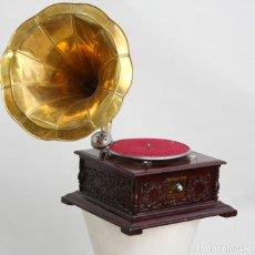 Gramófonos y gramolas: GRAMOFONO, FUNCIONA.. Lote 295698698
