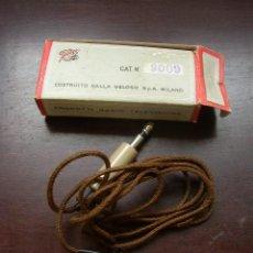 Radios antiguas: CAJA DE CARTÓN CON PICK-UP.RADIO Nº. 9009- GELOSO- MILANO. PRODOTTI RADIO TELEVISIONE. VER FOTOS. Lote 22111874
