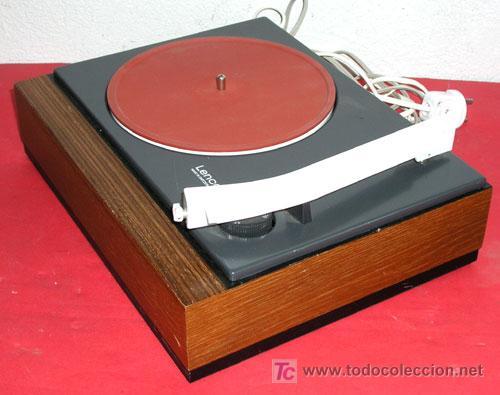 Radios antiguas: TOCADISCOS LENCO - Foto 2 - 5955035