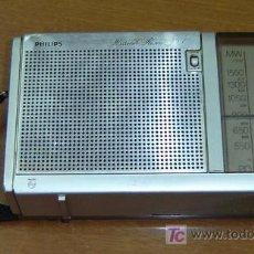Radios antiguas: TRANSISTOR ANTIGUO PHILIPS MEDIDAS 19*4*11. Lote 27156896