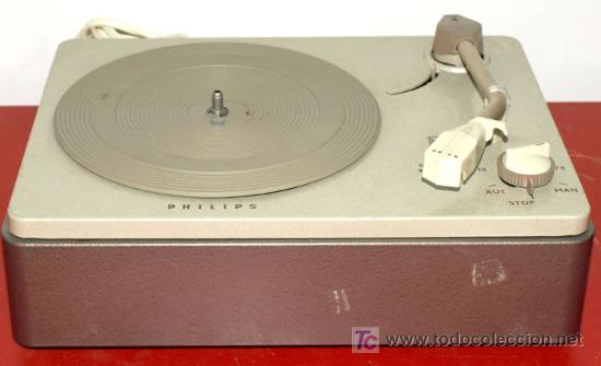 TOCADISCOS PHILIPS (Radios, Gramófonos, Grabadoras y Otros - Transistores, Pick-ups y Otros)