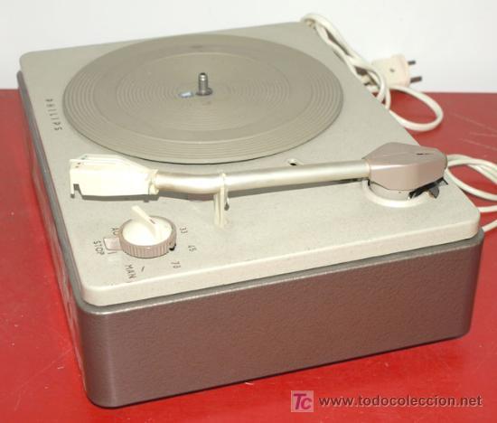 Radios antiguas: TOCADISCOS PHILIPS - Foto 2 - 12479706