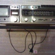 Radios antiguas: RADIO CASETE CON TV EN BLANCO Y NEGRO. NO FUNCIONA. MARCA ORION.. Lote 31756388
