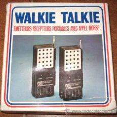 Radios antiguas: ANTIGUOS WALKIE TALKIE - CONCEPT 2000 - EN SU CAJA, DE CONSERVACION.. Lote 27403684
